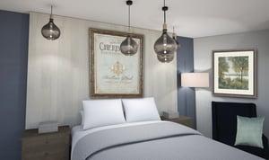 Saint Peters Mary V OShea Birth Center bedroomB