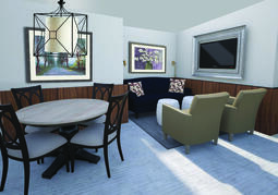 Saint Peters Mary V OShea Birth Center lounge